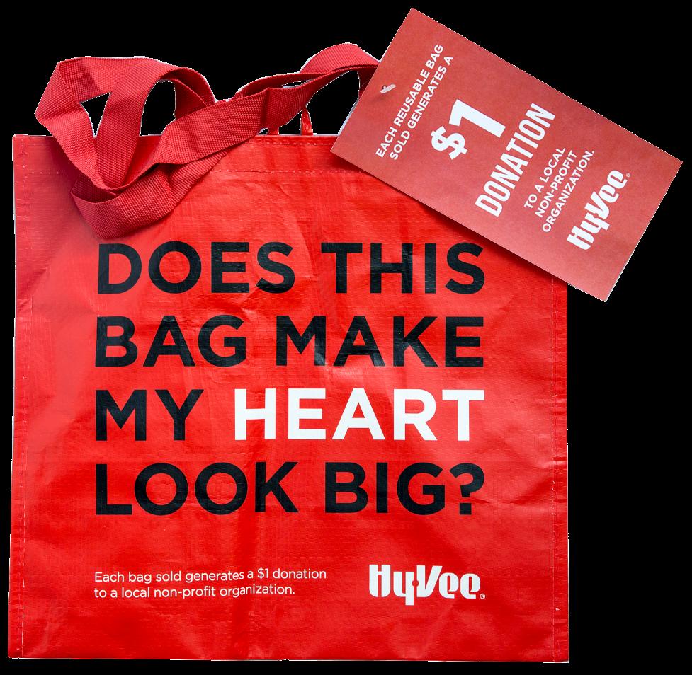 Hy-vee bag